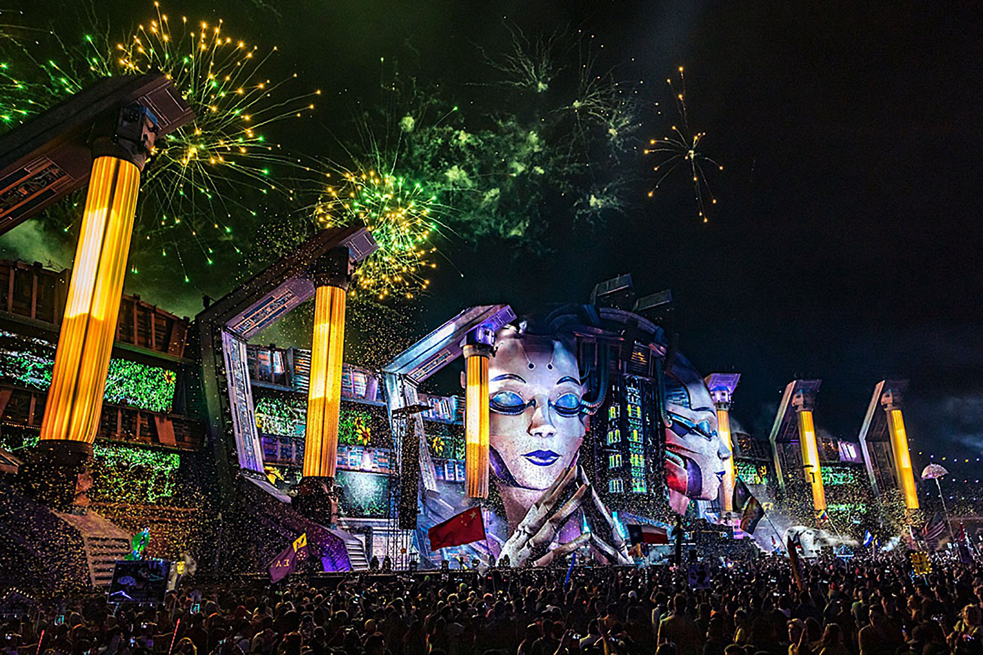 Kinetic Field mainstage, EDC Las Vegas 2019